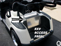 Ezgo RXV Golf Cart Diamond Plate ACCESS PANEL