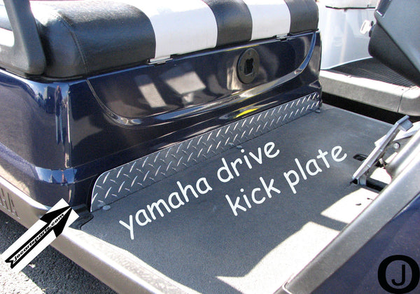YAMAHA DRIVE G29 Golf Cart Highly Polished Aluminum Diamond Plate KICK Panel