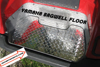 Yamaha Golf Cart Highly Polished Aluminum Diamond Plate Bagwell Floor g14 to g22