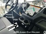 Honda Pioneer 700 Center Dash Cup Holder ABS Plastic 2 Jumbo Drink Holder