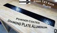 Ezgo TxT / Medalist Golf Cart Highly Polished Aluminum Diamond Plate KICK Panel