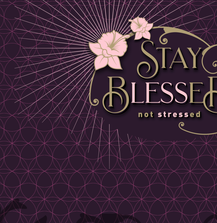 """Stay blessed"" Youth T-Shirt"