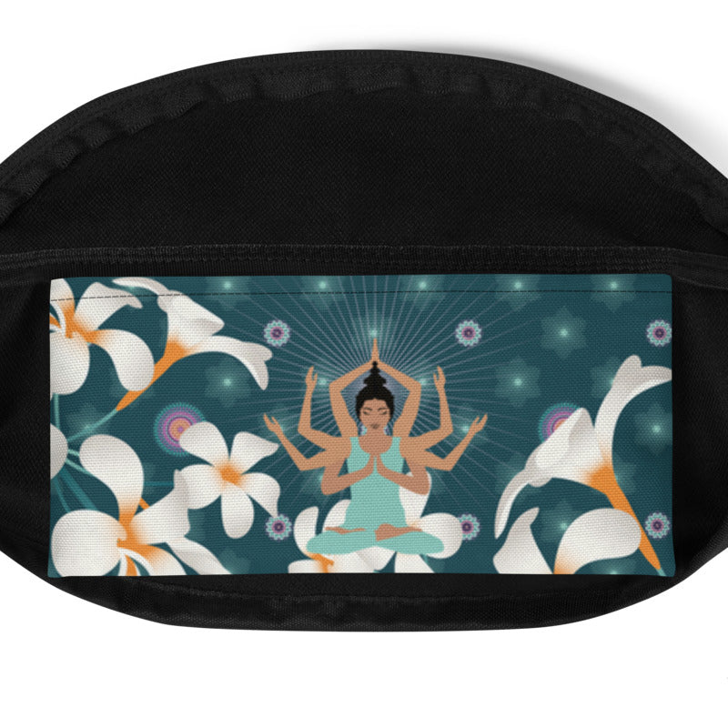 Vibrant Fanny Pack by MOKSHAMAN® in petrol