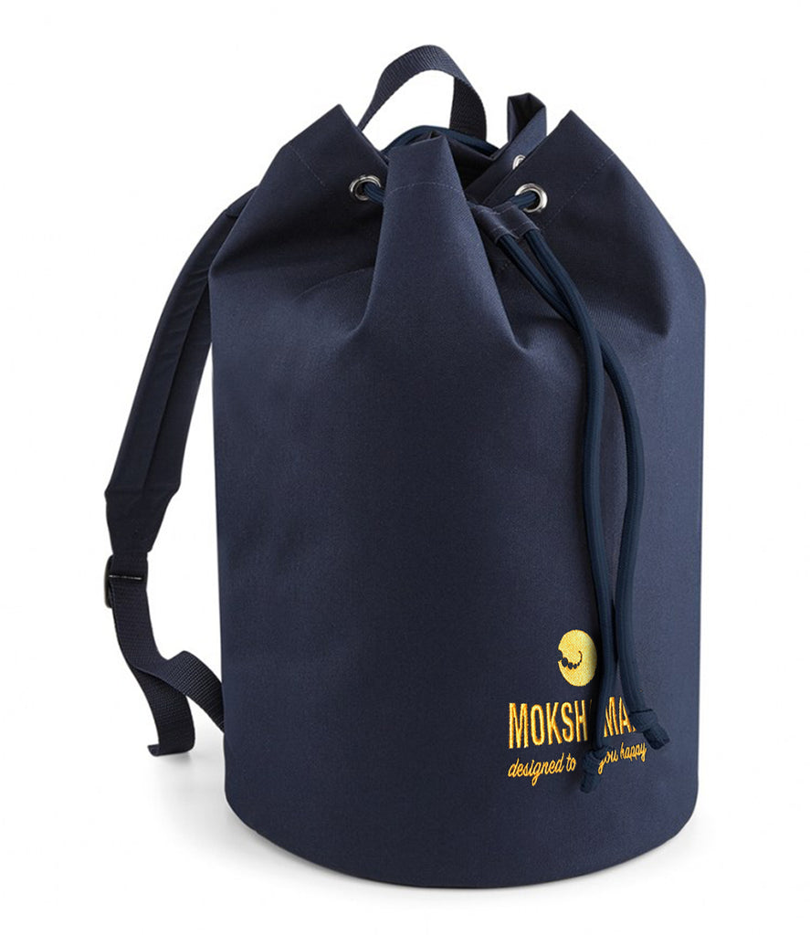 """SERIOUS CAPACITY"" backpack by MOKSHAMAN®"