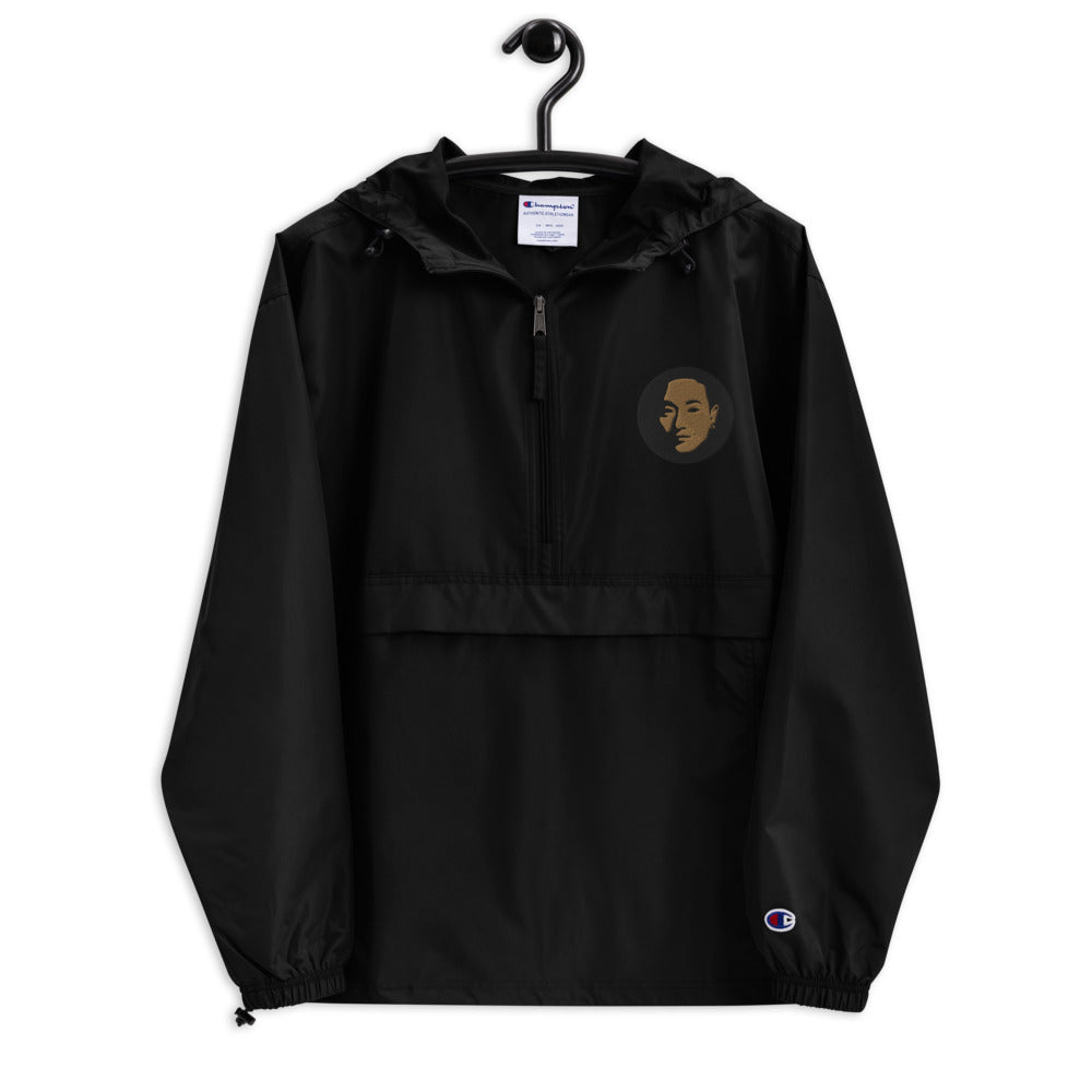 Coco's Champion Packable Jacket, embroidered in Gold