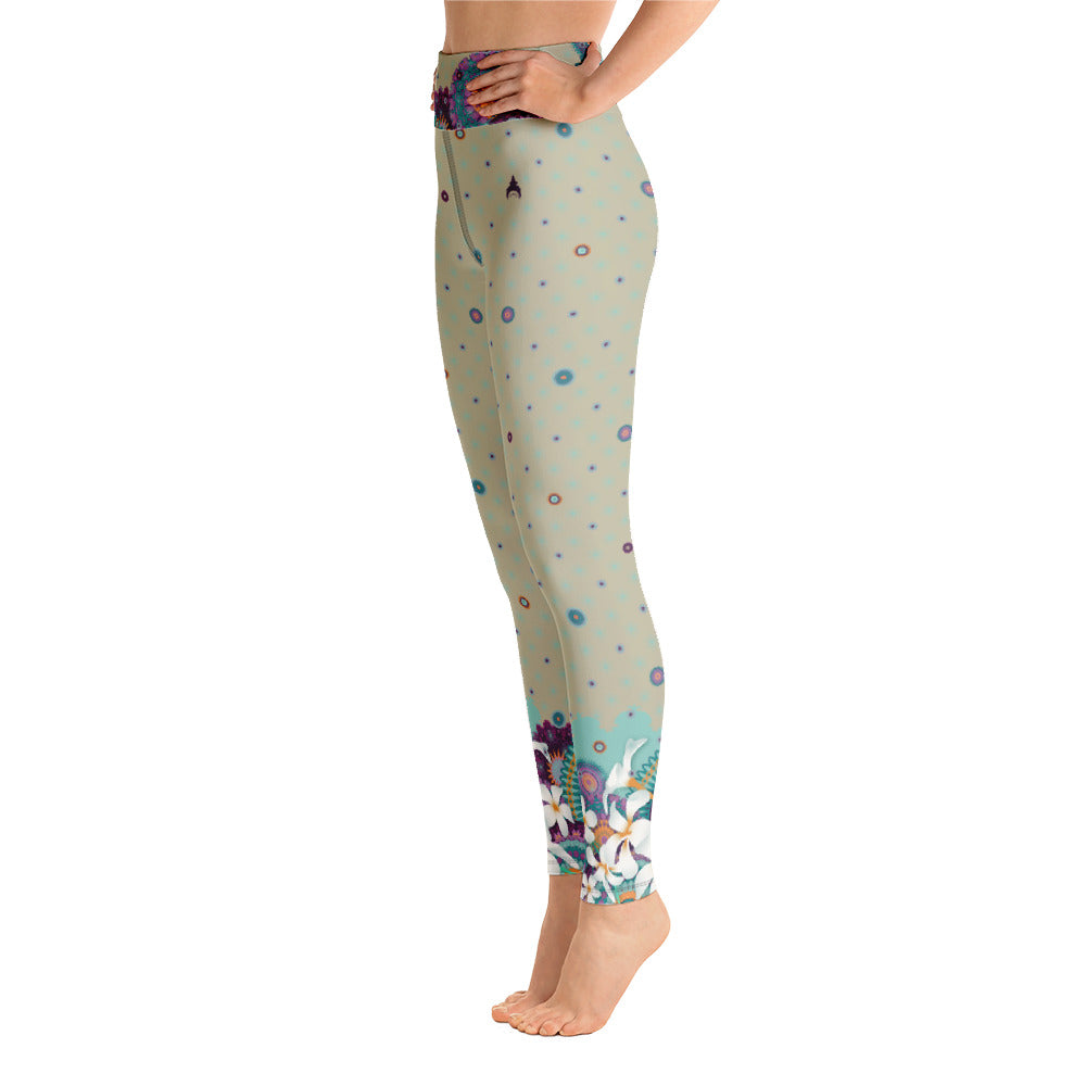 """YASHICA"" Yoga Leggins in greige"