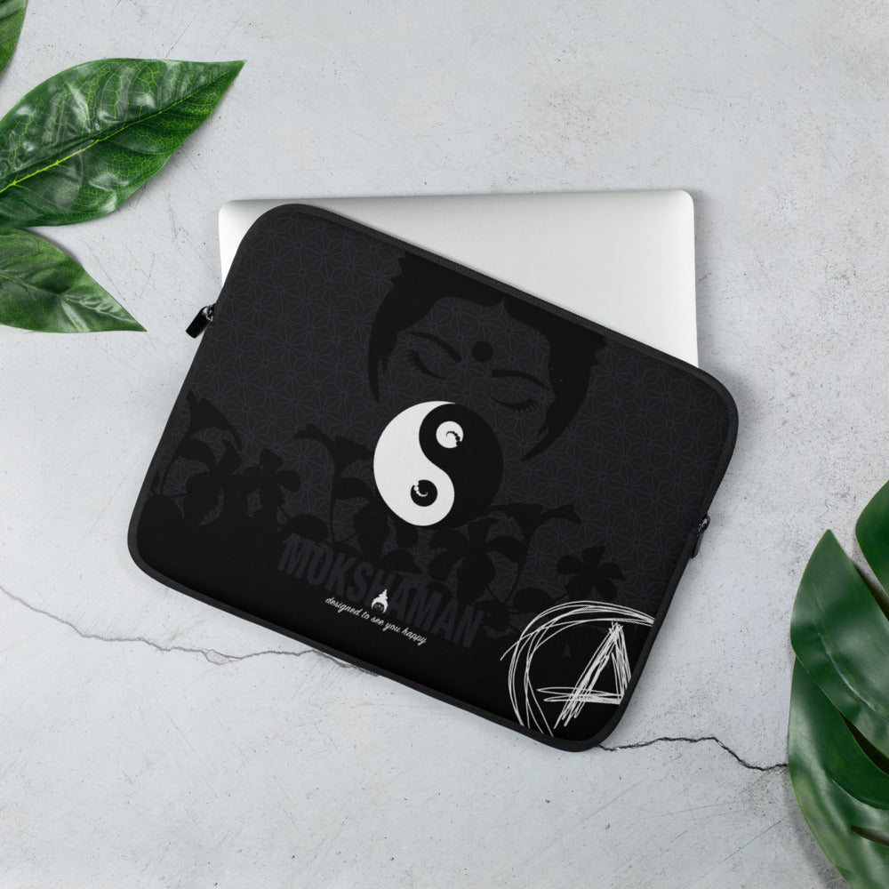 """AAAwareness"" Laptop Sleeve by MOKSHAMAN®"