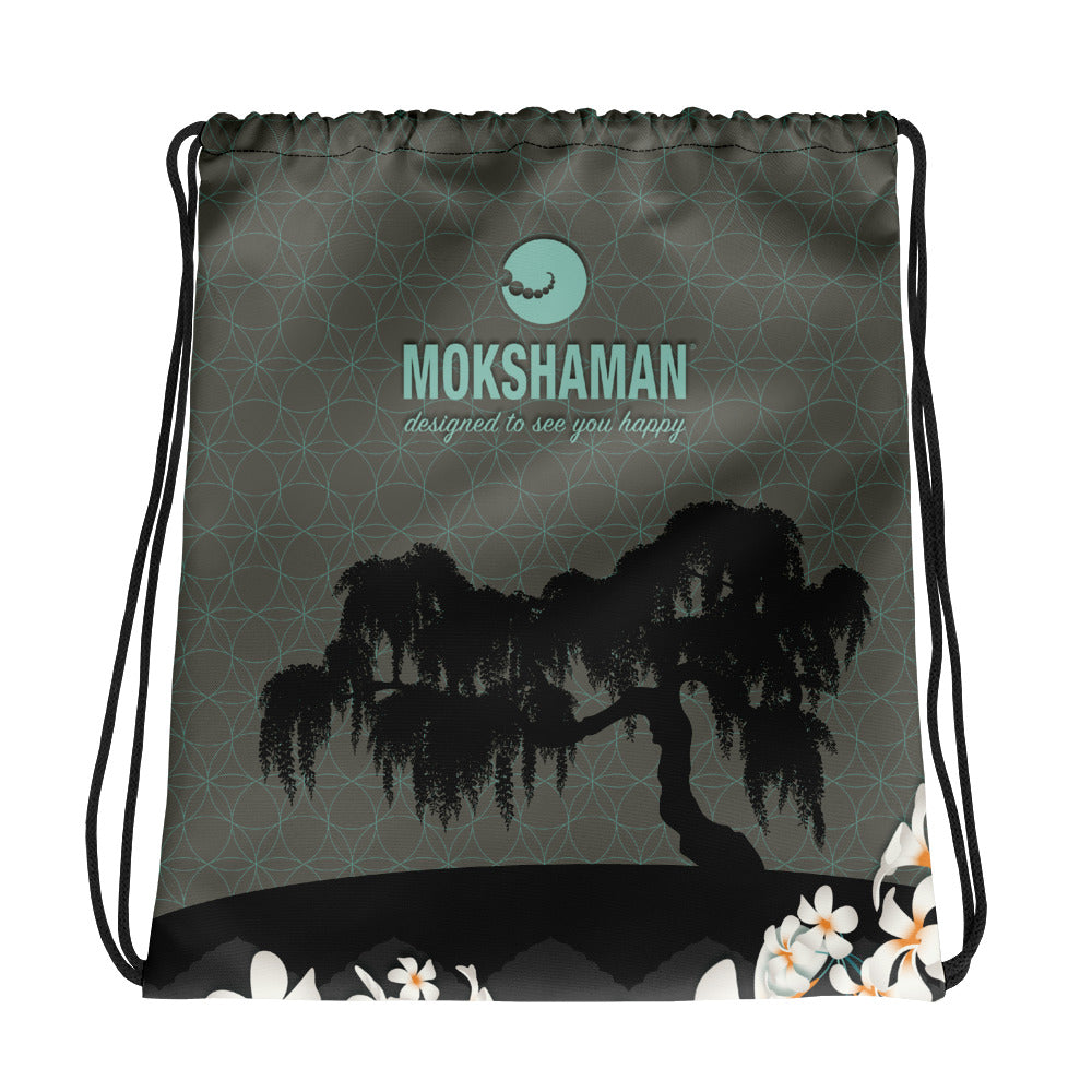 """Urban Jungle"" Drawstring bag"
