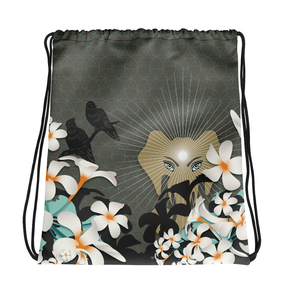 Urban Jungle Drawstring bag by MOKSHAMAN®