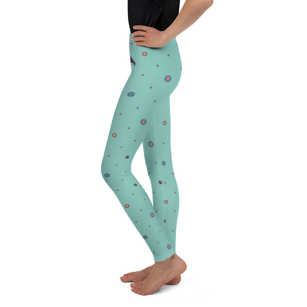 """SUHANI"" Youth Leggins in light mint"