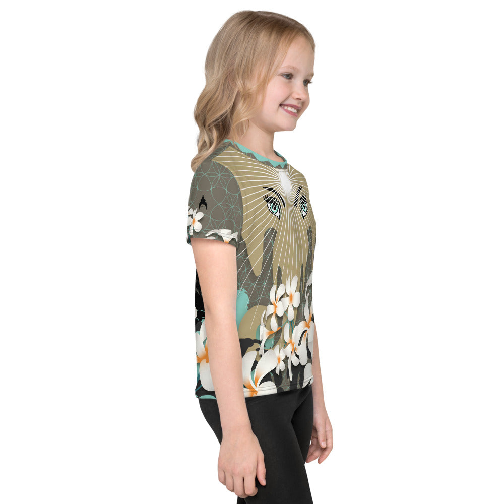 """Urban Jungle"" Kids T-Shirt by MOKSHAMAN®"