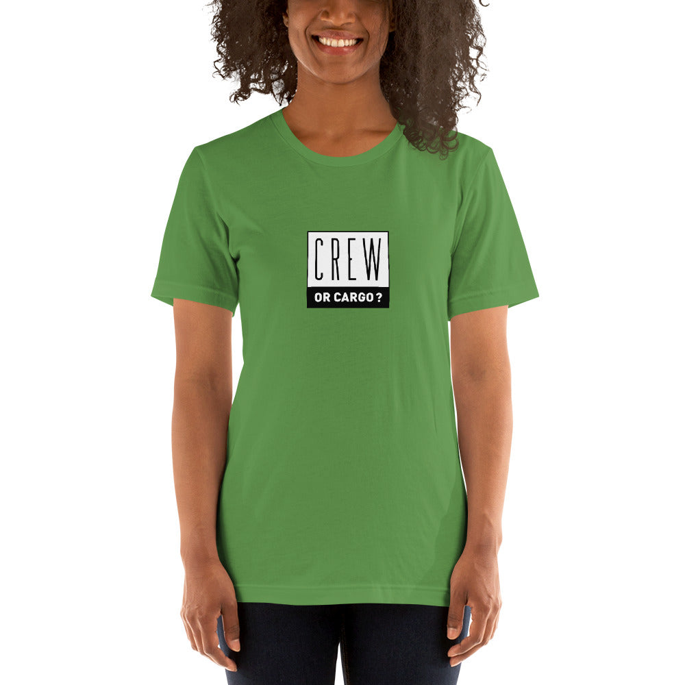 """CREW OR CARGO?"" Statement Shirt"
