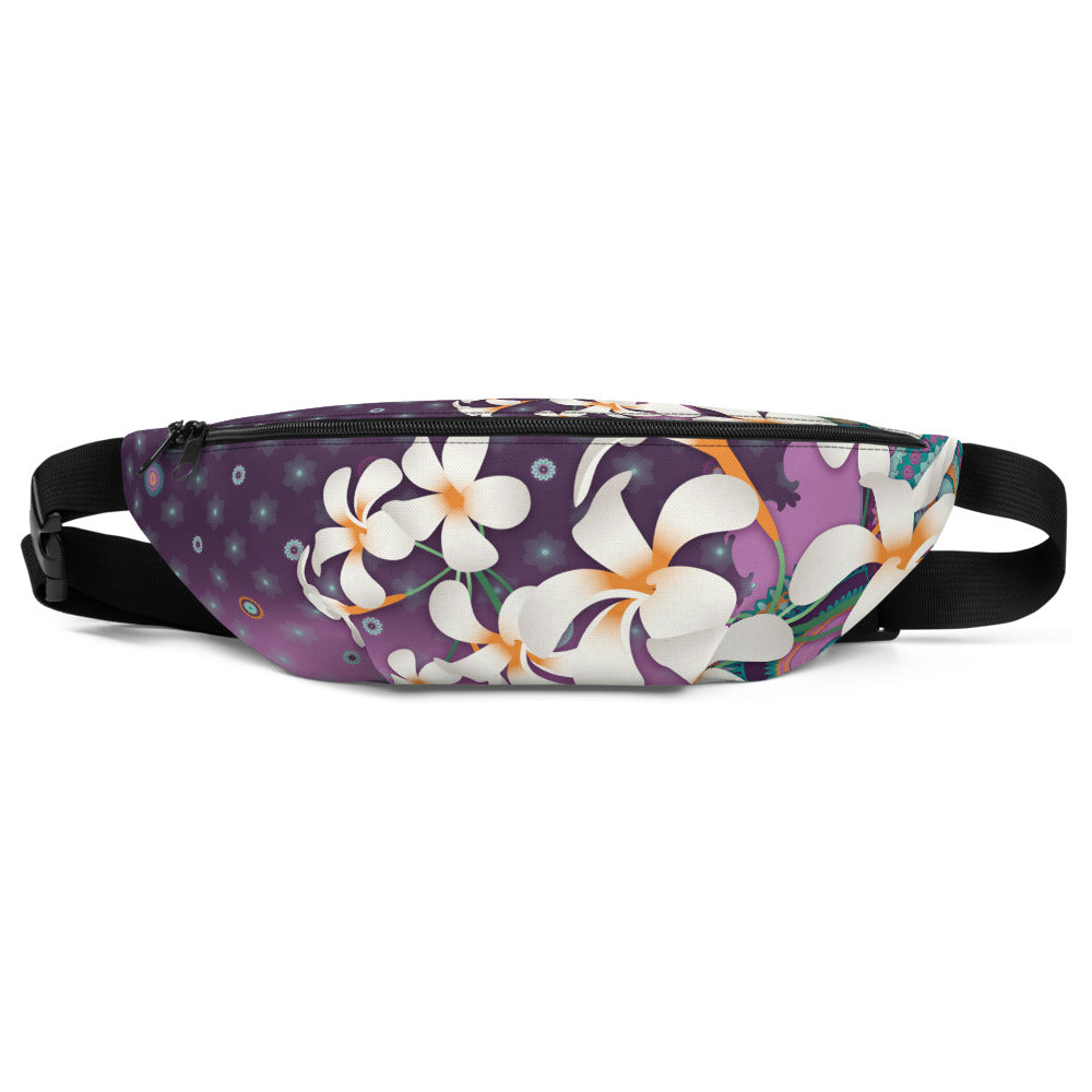 Vibrant Fanny Pack by MOKSHAMAN® in lila