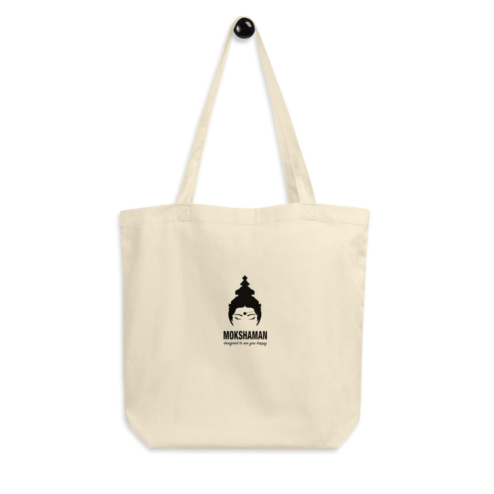 Eco Tote Bag by MOKSHAMAN®, branded