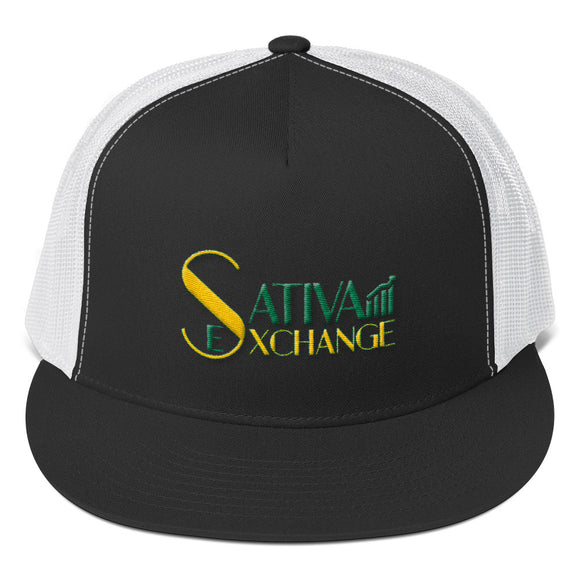 Sativa Exchange Trucker Cap