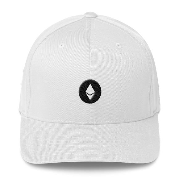 Ethereum Flexfit Structured Twill Cap