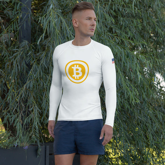 Bitcoin USA Men's Rash Guard