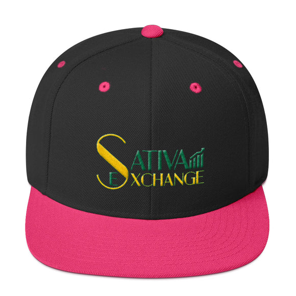 Sativa Exchange Premium Snapback Hat