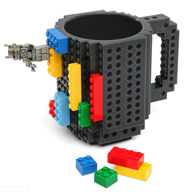 Building Blocks Mug is the perfect coffee mug for anyone who likes. to stay occupied while drinking their daily cup of coffee or daily cup of tea.