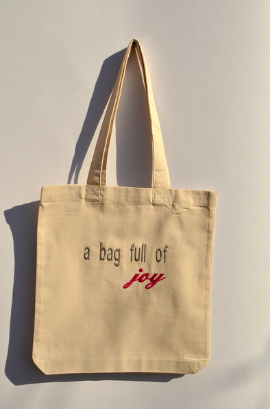 Organic Cotton Tote Bag White