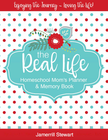 Real Life Homeschool Mom's Planner & Memory Book