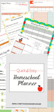 Load image into Gallery viewer, Quick & Easy Homeschool Planner Set - Digital Download