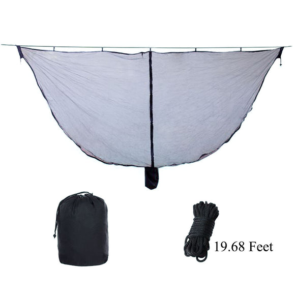 Rainleaf Hammock Bug Net Mosquito Net, Double Mesh Netting Fit All Outdoor Double & Single Hammocks,Compact/Portable/Lightweight