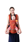 Baby Carrier Hip Seat 4 in 1 - Soft Breathable Baby Carrier Backpack for Infant, Toddlers