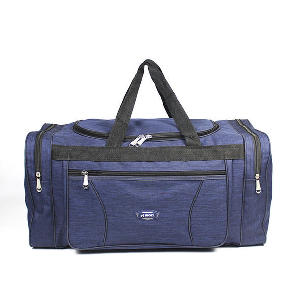 Rainleaf Folding Travel Duffel Bag,  Gray