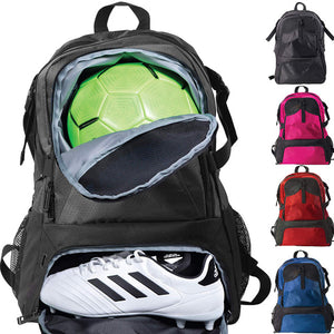 Rainleaf Youth Soccer Bags Soccer Backpack Basketball vollyball Football Bag& Backpack Kids Ages 6 and Up - with Ball Compartment