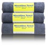 Rainleaf Microfiber Travel Towel Set,Pack Towels for Travel Gym Camping Fishing,Fast Dryingt Towel, 16x16 Inches,6 Pack Grey