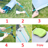 Rainleaf Camping Cot,Portable Folding Camping Bed for Travel,Camp,Base Camp,Hiking,Hunting,Home,Daycare,Free Storage Bag Included