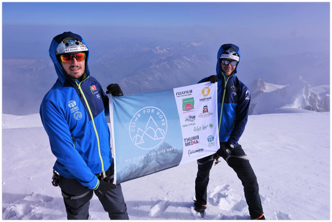 Peak Summit Climb for Hope