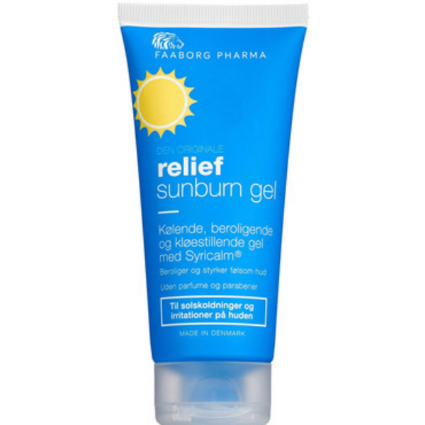 Faaborg Pharma Relief Sunburn Gel, 100 ml - Gladhud.nu