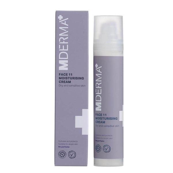 MDerma FACE 11 Moisturizing Cream, 50 ml - Gladhud.nu