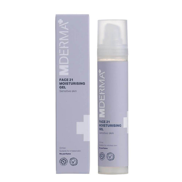 MDerma FACE 21 Moisturizing Gel, 50 ml - Gladhud.nu