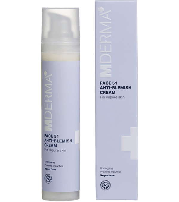MDerma FACE 51 Anti-blemish cream, 50 ml - Gladhud.nu