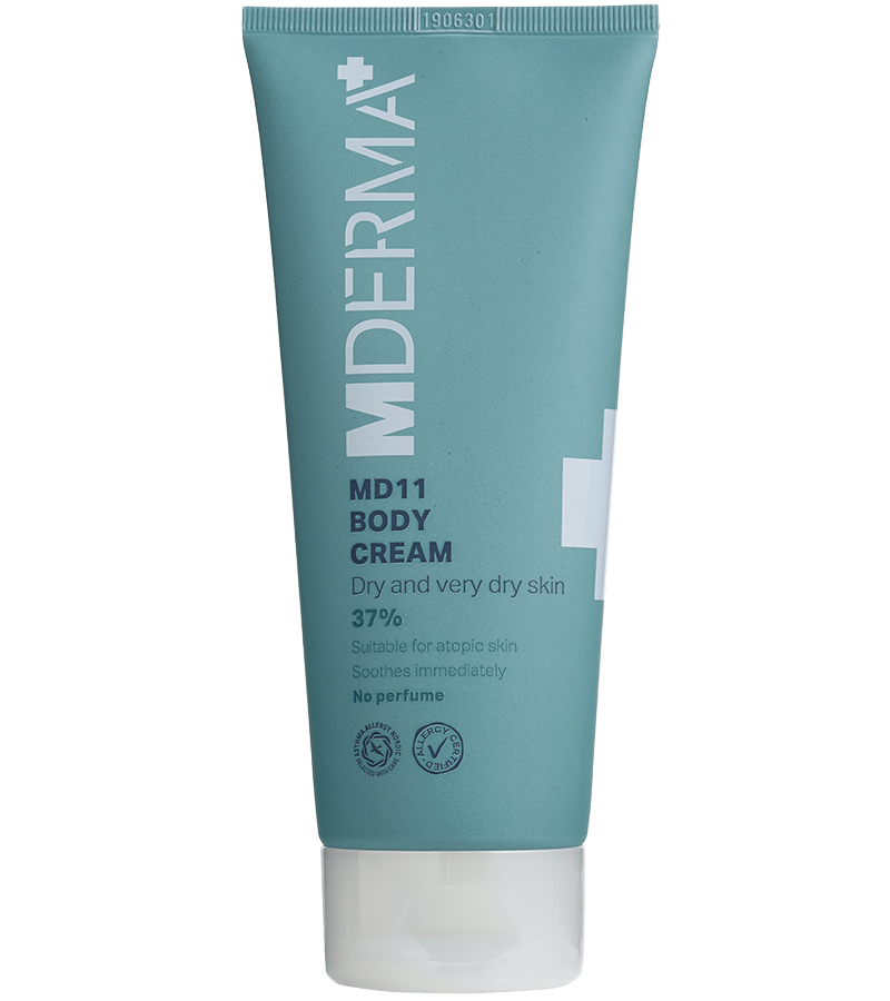 MDerma MD11 Body Cream 200 ml - Gladhud.nu
