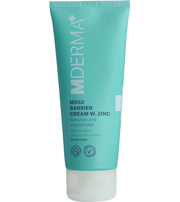 MDerma MD52 Barrier Cream w. Zinc, 75 ml - Gladhud.nu