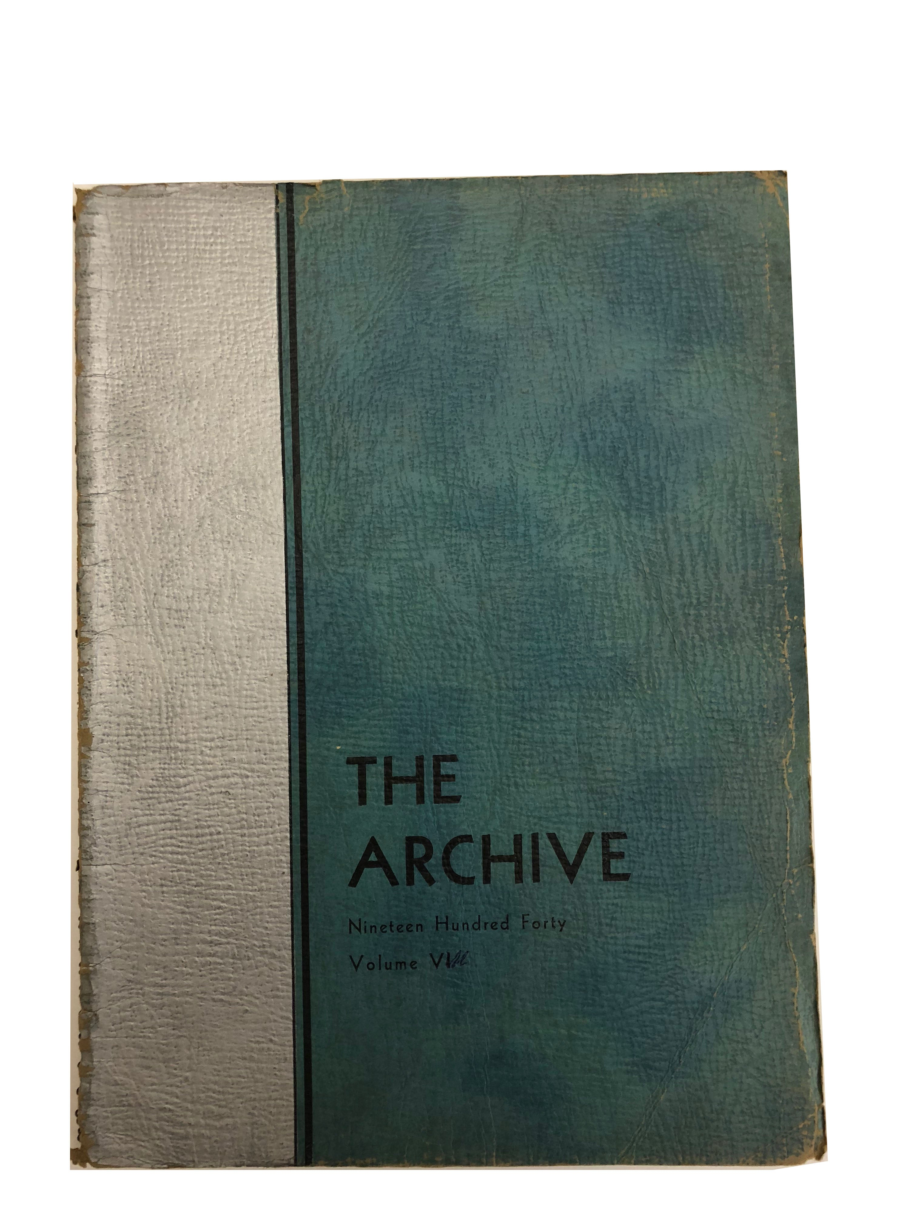 1940 The Archive - Ridley Yearbook