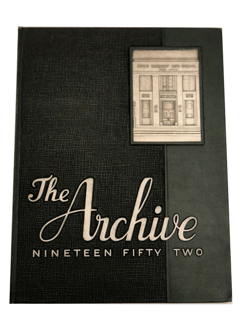 1952 The Archive - Ridley Yearbook