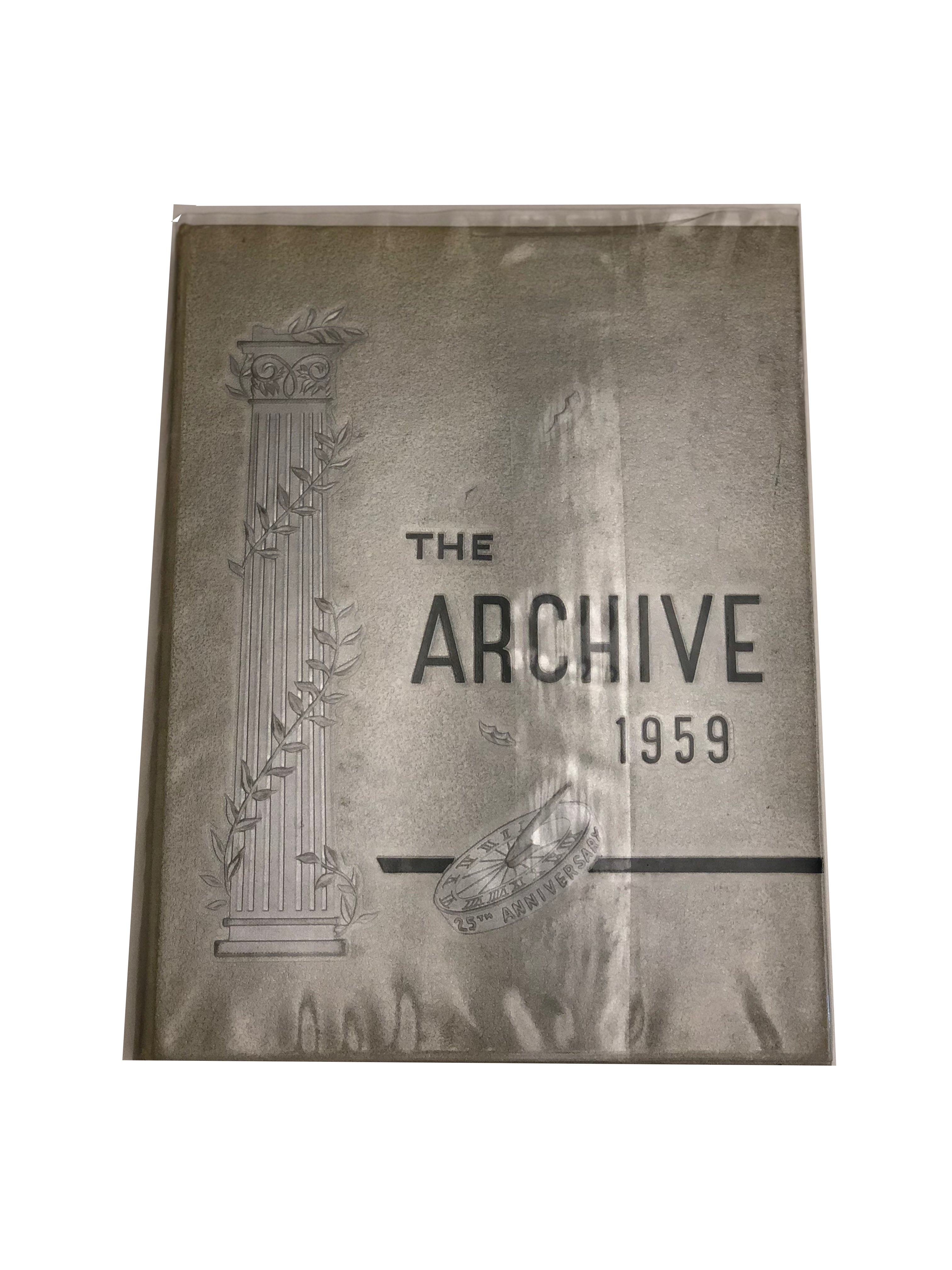 1959 The Archive - Ridley Yearbook