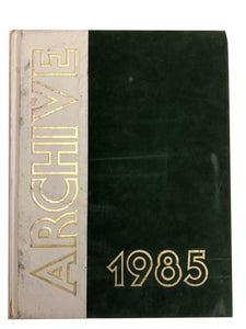 1985 The Archive - Ridley Yearbook
