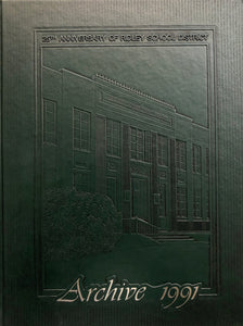 1991 The Archive - Ridley Yearbook