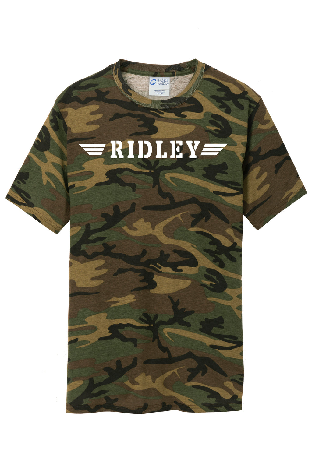 Adult Camo Ridley T-Shirt