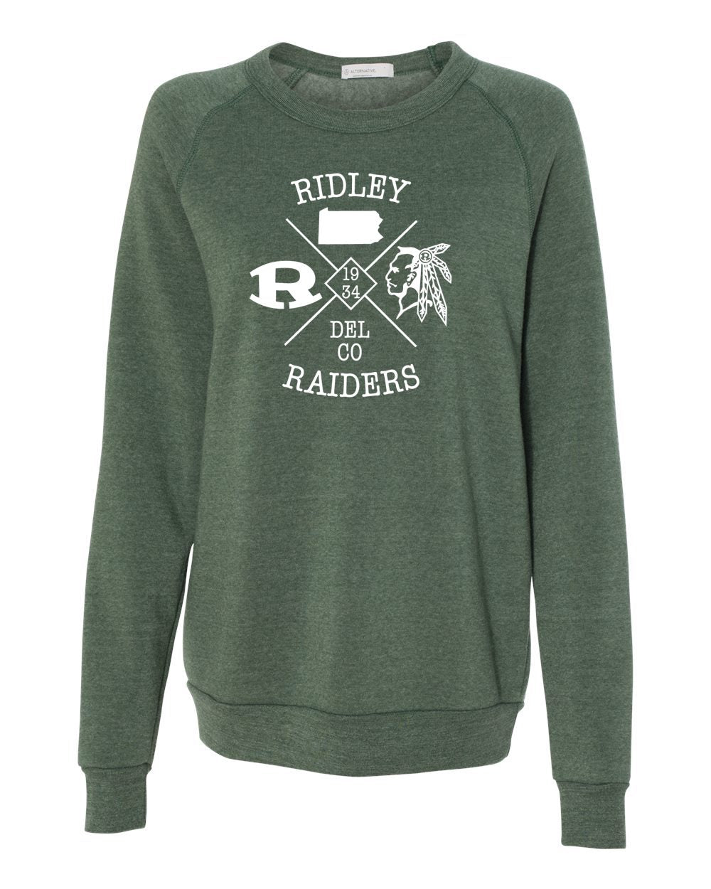 Adult Ridley Delco Raiders Crewneck