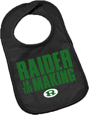 Infant Raider in the Making Bib