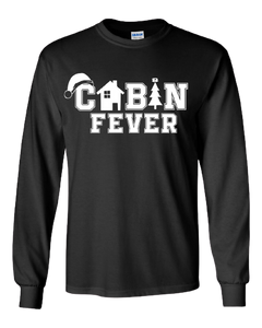 Adult Cabin Fever Long Sleeve Shirt