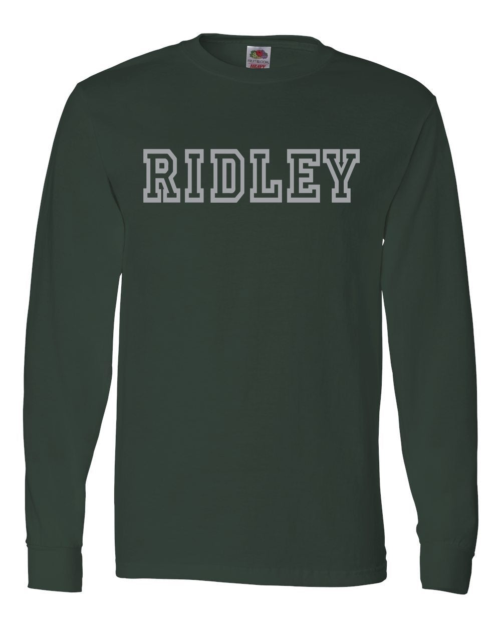Adult Green & Gray Ridley Long Sleeve T-Shirt
