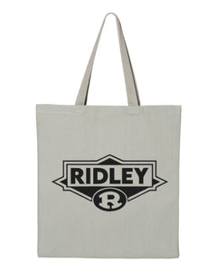 Gray Canvas Tote